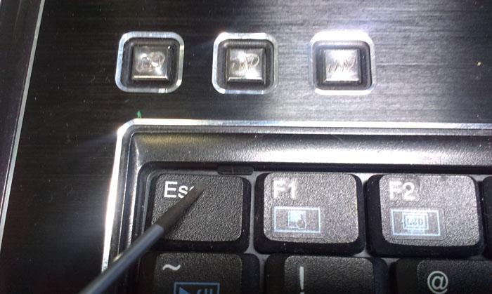 защелки клавиатуры
